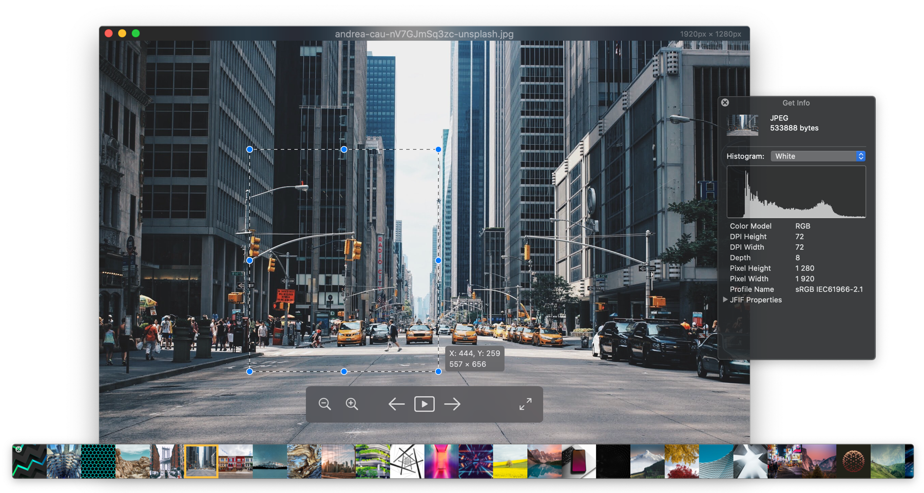 PIXEA - Free image viewer for macOS